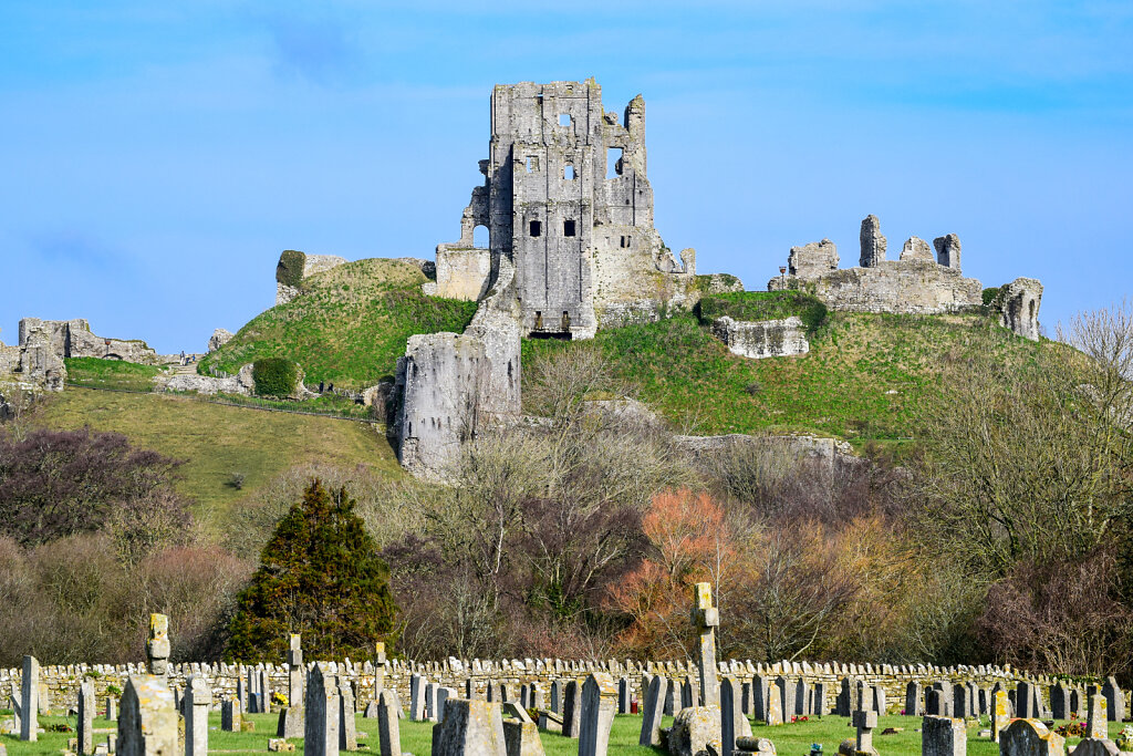 Corfe Castle - 1